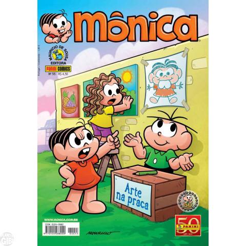 Mônica [3ª série - Panini] nº 055 jul/2011