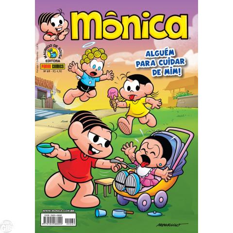 Mônica [3ª série - Panini] nº 069 set/2012