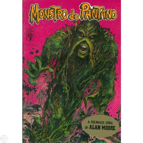 Monstro do Pântano [Abril] nº 001 jan/1990 - Leia os detalhes abaixo