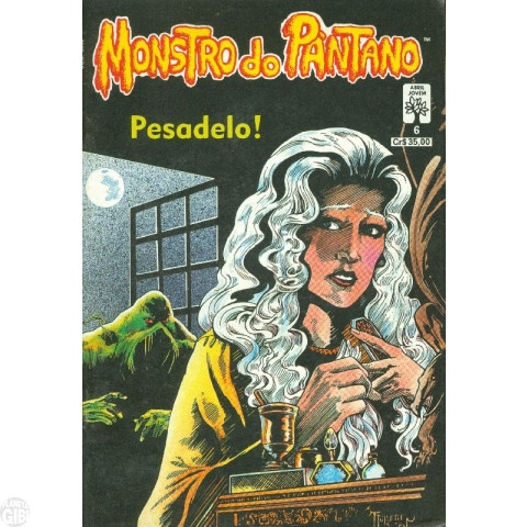 Monstro do Pântano [Abril] nº 006 jun/1990