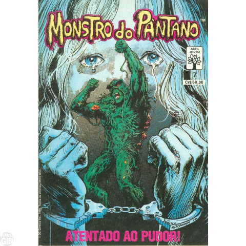 Monstro do Pântano [Abril] nº 007 jul/1990
