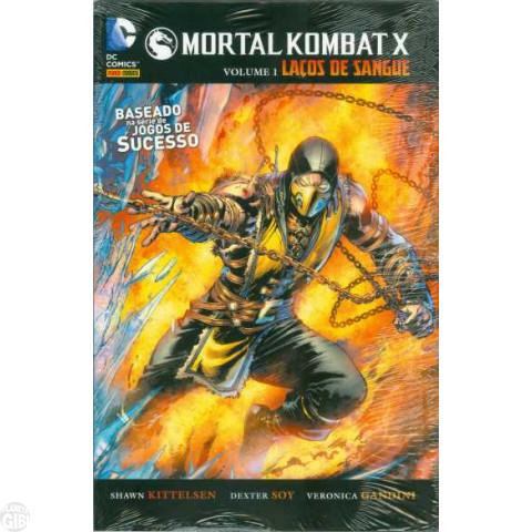 Mortal Kombat X nº 001 abr/2015 - Laços de Sangue