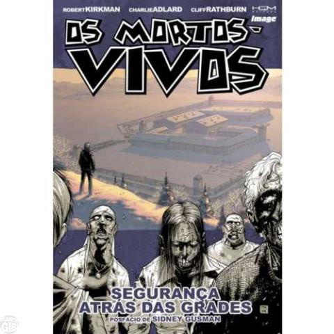 Mortos-Vivos [HQM - The Walking Dead - Encadernado] nº 003 abr/2008 - Segurança Atrás das Grades