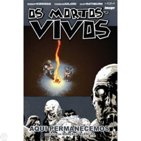 Mortos-Vivos [HQM - The Walking Dead - Encadernado] nº 009 jul/2012 - Aqui Permanecemos