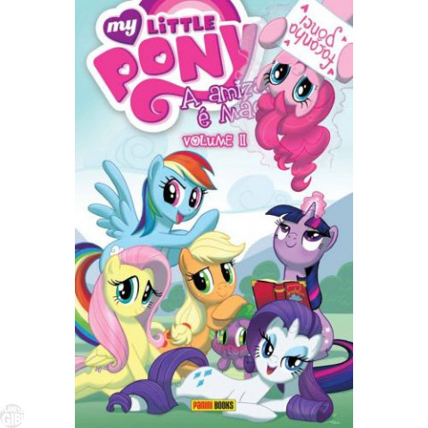 My Little Pony [Panini] nº 002 jun/2016 - A Amizade É Mágica