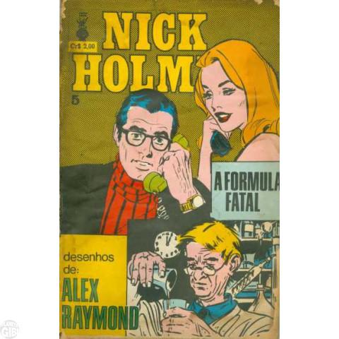 Nick Holmes [Trieste] nº 005 jul/1972 - Vide detalhes