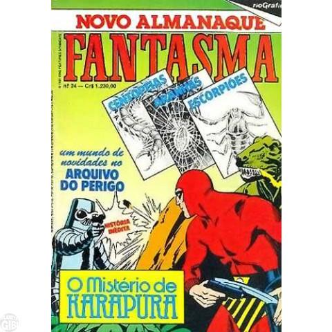 Novo Almanaque Fantasma [RGE - 2ª série] nº 024 dez/1984