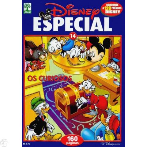Novo Disney Especial nº 014 fev/2004 - Os Curiosos - Última Edição Desta Série