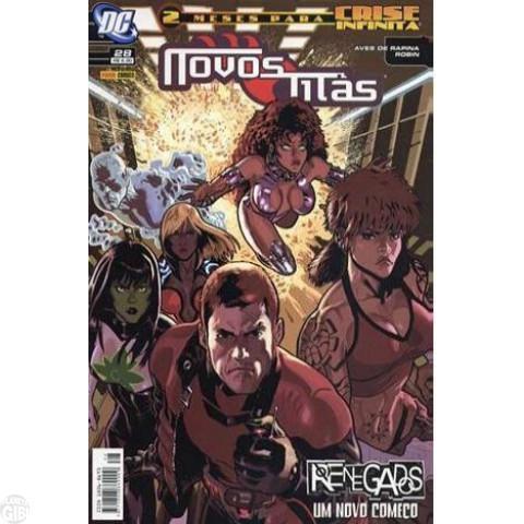 Novos Titãs [Panini - 1ª série] nº 028 out/2006