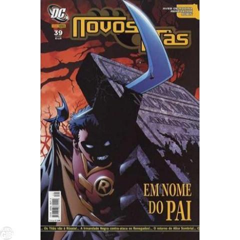 Novos Titãs [Panini - 1ª série] nº 039 set/2007