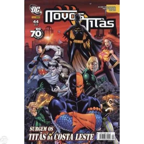 Novos Titãs [Panini - 1ª série] nº 044 fev/2008