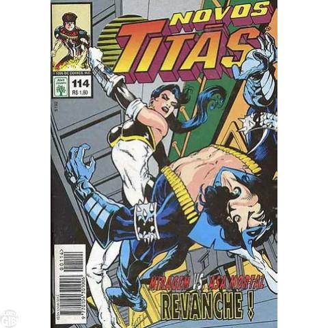 Os Novos Titãs - Abril - nº 114 set/95