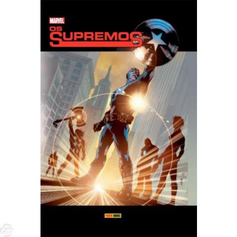 Os Supremos [Panini - 2ª edição]  jun/2012 - Capa Dura
