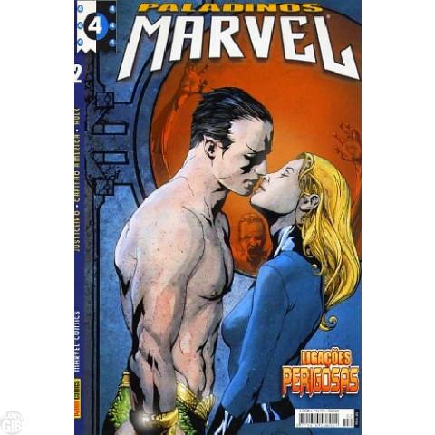 Paladinos Marvel [Panini] nº 002 fev/2002 - Justiceiro | Quarteto Fantástico | Capitão América | Hulk