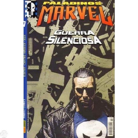 Paladinos Marvel [Panini] nº 007 jul/2002 - Justiceiro | Elektra | Capitão América | Hulk