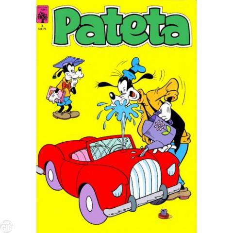 Pateta [1ª série] nº 003 set/1982 - O Fantasma do Castelo