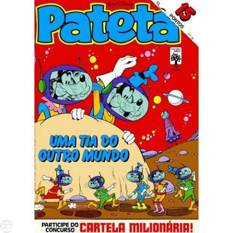 Pateta [1ª série] nº 039 fev/1984 - Vibrações Negativas - Vide detalhes