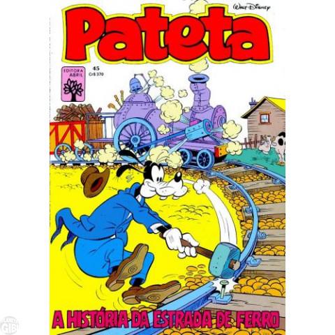 Pateta [1ª série] nº 045 mai/1984 - O Terror do Território