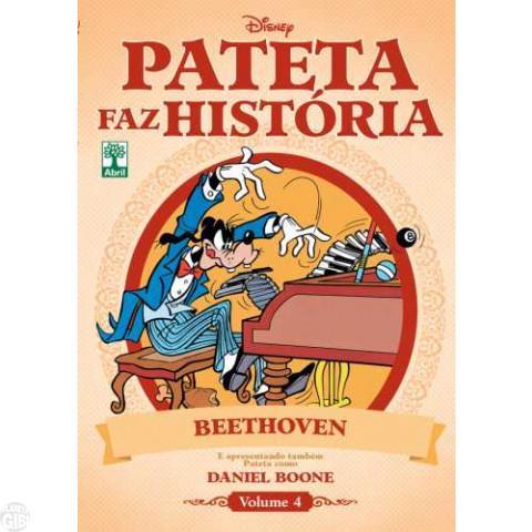 Pateta Faz História [2011] nº 004 ago/2011 - Beethoven & Daniel Boone