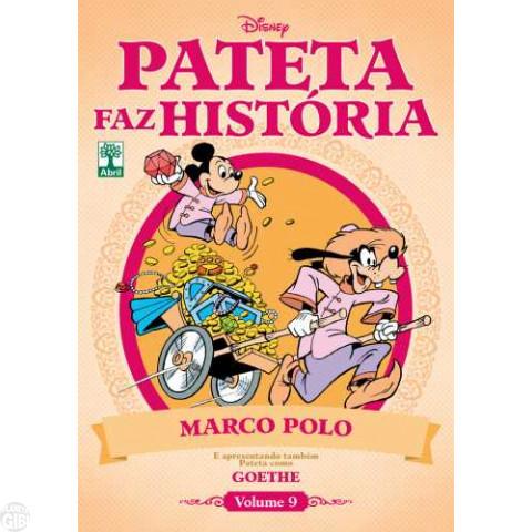 Pateta Faz História [2011] nº 009 set/2011 - Marco Polo & Goethe
