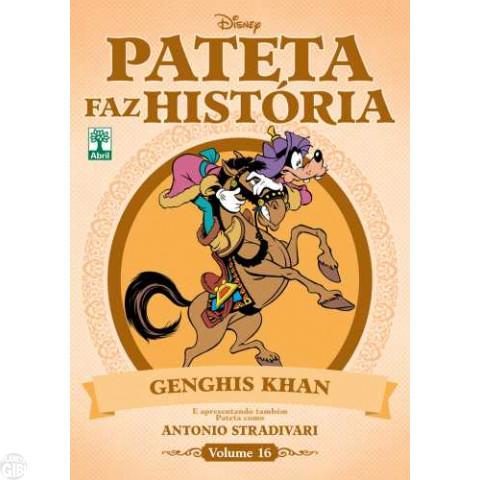 Pateta Faz História [2011] nº 016 nov/2011 - Genghis Khan & Stradivari