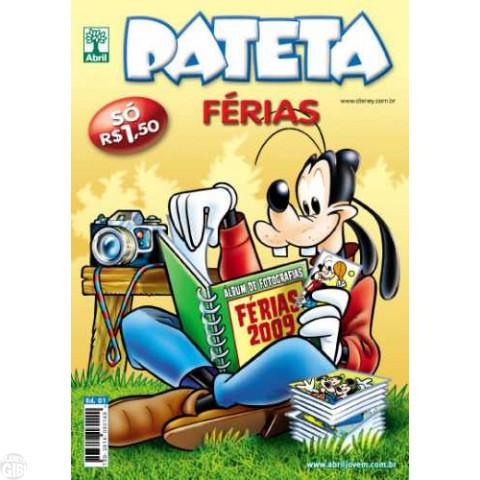 Pateta Férias nº 001 jun/2009