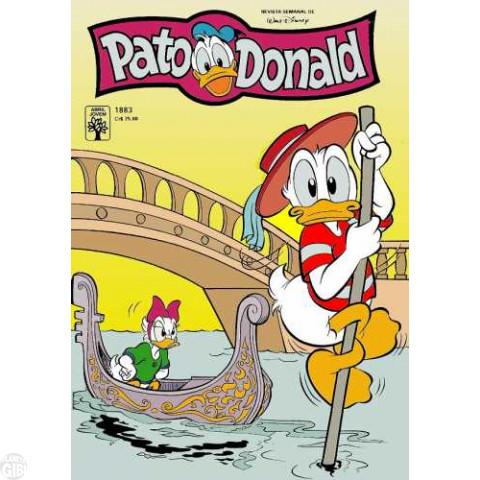 Pato Donald nº 1883 jul/1990