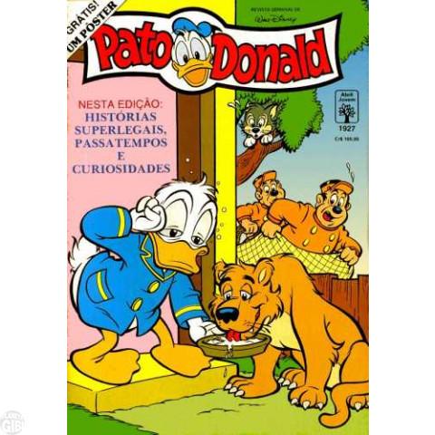Pato Donald nº 1927 mai/1991