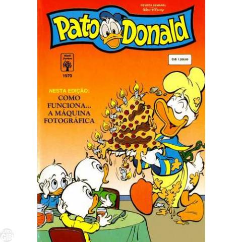 Pato Donald nº 1970 mar/1992 - Vide Detalhes