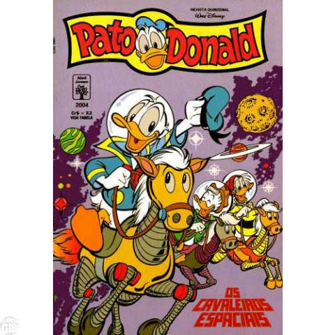 Pato Donald nº 2004 mar/1993