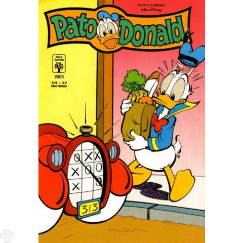 Pato Donald nº 2005 mar/1993