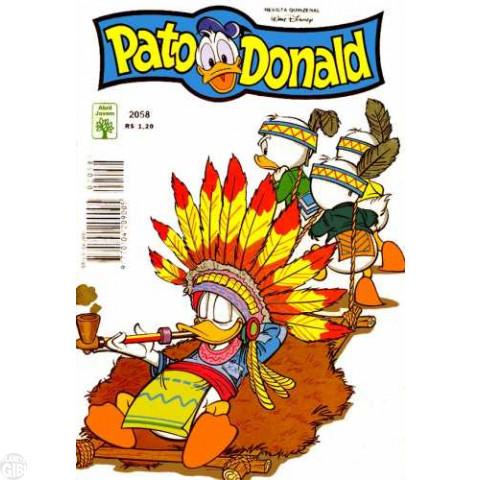 Pato Donald nº 2058 mai/1995 - Olho no Olho