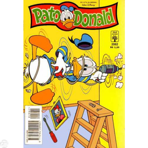 Pato Donald nº 2062 jun/1995 - O Cinto Linguarudo