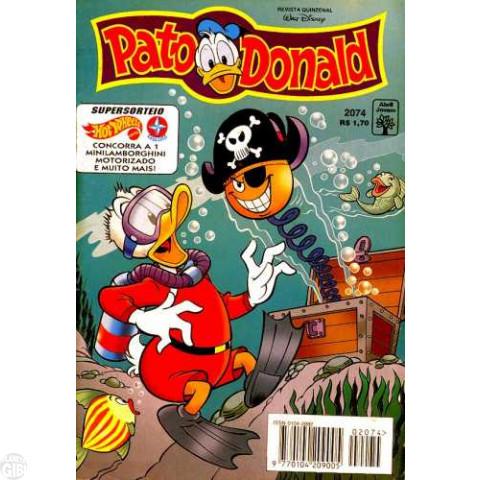 Pato Donald nº 2074 dez/1995
