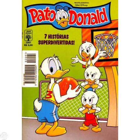 Pato Donald nº 2091 ago/1996