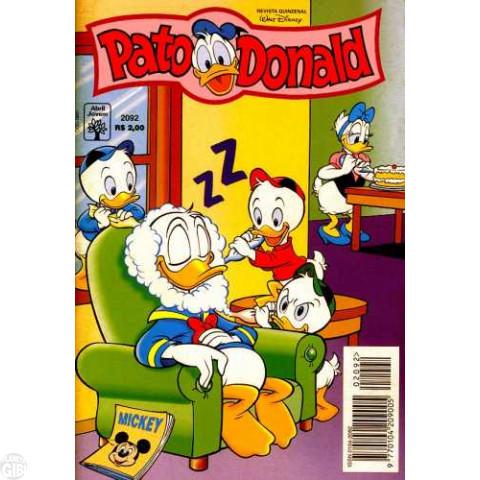 Pato Donald nº 2092 ago/1996