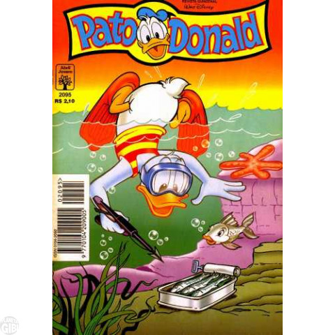 Pato Donald nº 2095 out/1996