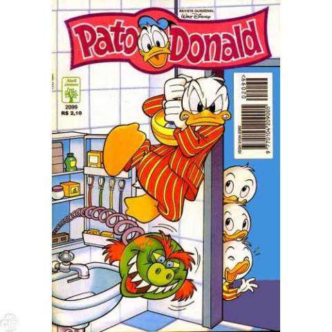 Pato Donald nº 2099 nov/1996