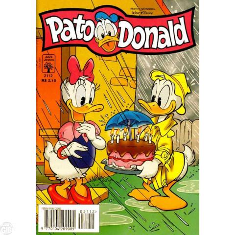 Pato Donald nº 2112 mai/1997