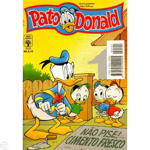 Pato Donald nº 2121 set/1997