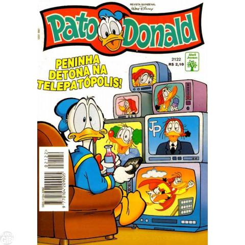 Pato Donald nº 2122 out/1997