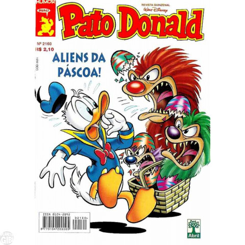 Pato Donald nº 2160 mar/1999