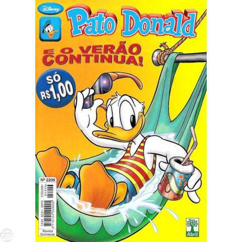 Pato Donald nº 2206 jan/2001
