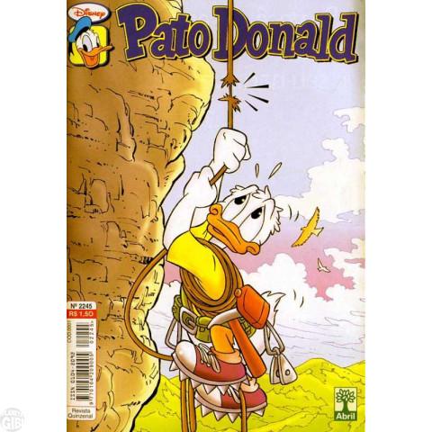 Pato Donald nº 2245 jul/2002