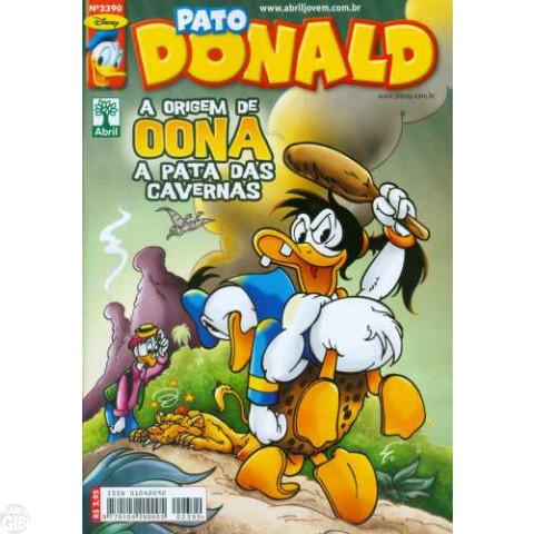 Pato Donald nº 2390 jan/2011 - A Origem da Princesa Oona (Vicar)