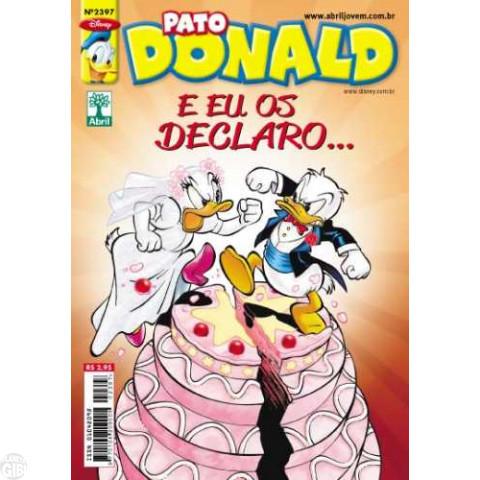Pato Donald nº 2397 ago/2011 - Eram Duas Vezes...