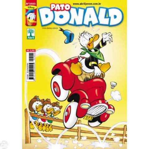 Pato Donald nº 2402 jan/2012 - O Carro do Futuro (Arild Midthun)