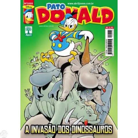 Pato Donald nº 2405 abr/2012 - Capachos & Despachos (Carl Barks & Daan Jippes)