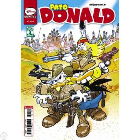 Pato Donald nº 2419 jun/2013 - Homenagem a Tex Willer: Um Ranger em Ação (Corrado Mastantuono)