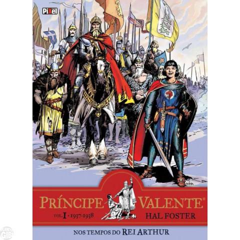 Príncipe Valente [Pixel] nº 001 ago/2016 - 1937-1938 - Nos Tempos do Rei Arthur